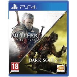Zaklínač 3:Divoký hon CZ + Dark Souls 3-ps4