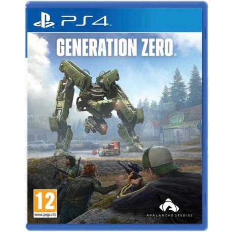 GENERATION ZERO-ps4