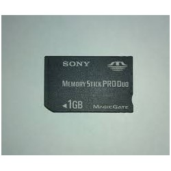 Memory Stick Pro Duo 1GB Sony-psp-bazar