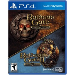 Baldurss Gate (Enhanced Edition) + Baldurss Gate 2 (Enhanced Edition)-ps4