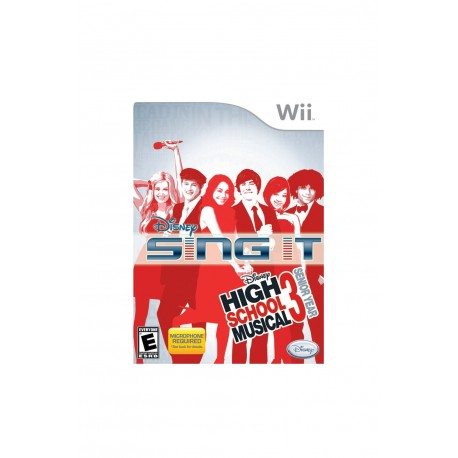 Disney Sing It: High School Musical 3-wii-bazar