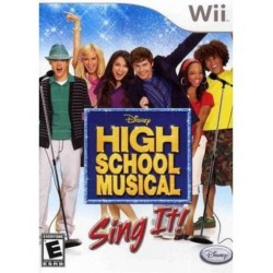 Disney Sing It: High School Musical-wii-bazar