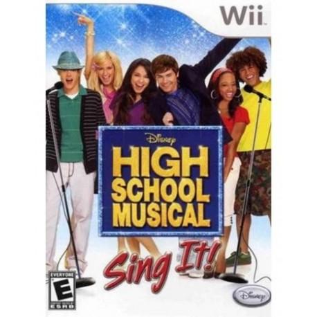 Disney Sing It: High School Musical-wii-bazar