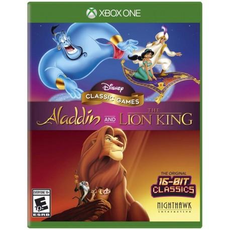 Aladdin and The Lion King-xone