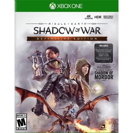 Middle-earth: Shadow of War Definitive Edition-xone-bazar