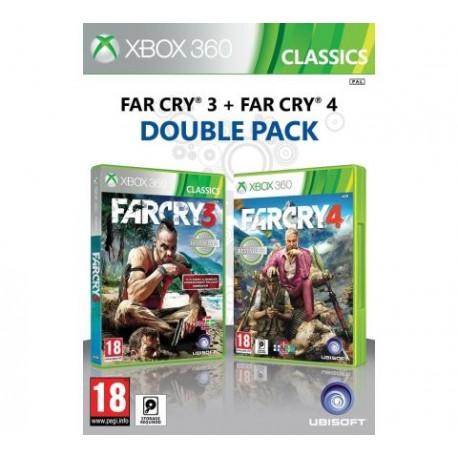 Far Cry 3 + Far Cry 4-x360