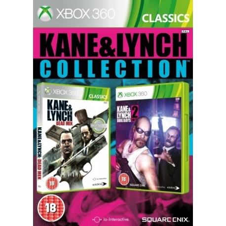 Kane & Lynch: 1 & 2 Double Pack-x360
