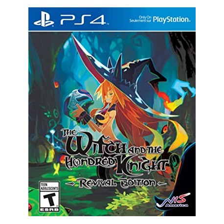 The Witch and the Hundred Knight: Revival Edition-ps4-bazar