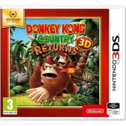 Donkey Kong Country Returns-3DS-bazar