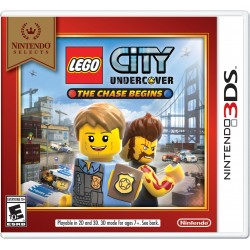 LEGO City Undercover: The Chase Begins Select-3DS-bazar