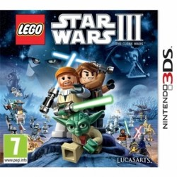 Lego Star Wars 3: The Clone Wars-3DS-bazar