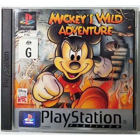 Mickey's Wild Adventure platinum-ps1-bazar