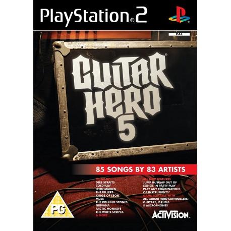 Guitar Hero 5-ps2-bazar