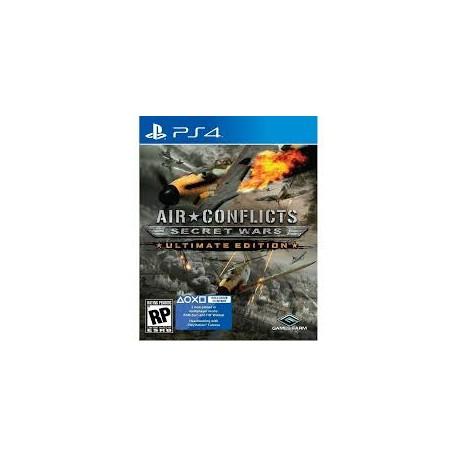 Air Conflicts: Secret Wars Ultimate Edition-ps4-bazar