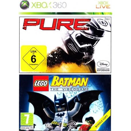 Pure and Lego Batman-x360-bazar
