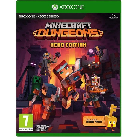 Minecraft Dungeons Hero Edition-xone