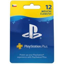 ESD CZ - PS Plus: 12 Month Membership-ps5