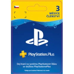ESD CZ - PS Plus: 3 Month Membership-ps5