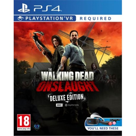 The Walking Dead: Onslaught VR Deluxe Ed.-ps
