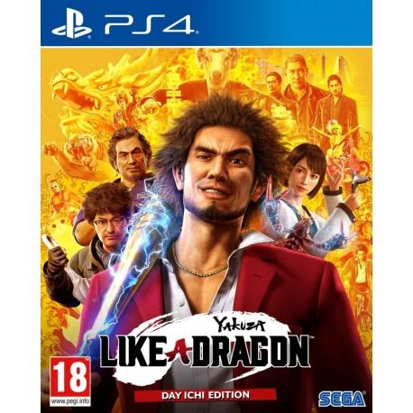 Yakuza: Like A Dragon - Day Ichi Edition-ps4