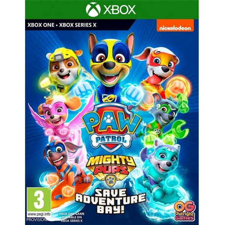 Paw Patrol: Mighty Pups Save Adventure Bay-xone