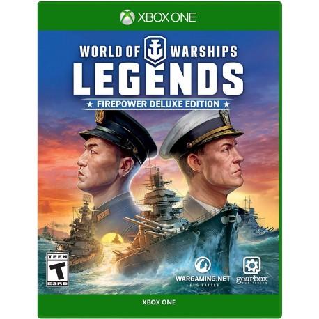 World of Warships: Legends Firepower Deluxe Edition-xone-bazar