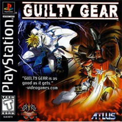 Guilty Gear - Ofocený obal !!-ps1-bazar