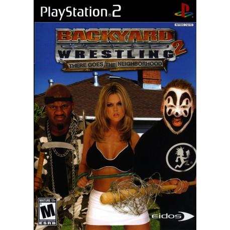 Backyard Wrestling 2: There Goes the Neighborhood-ps2-bazar