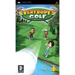 Everybodys Golf-psp-bazar