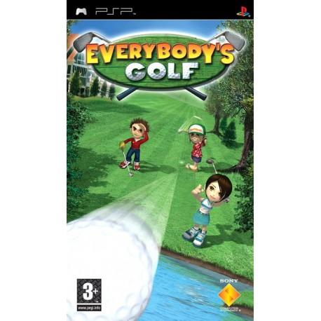 Everybodys Golf-psp-bazar