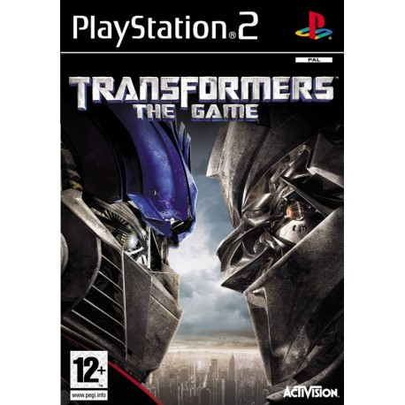 Transformers The Game-ps2