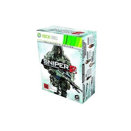 SNIPER GHOST WARRIOR 2 COLLECTOR'S EDITION-x360