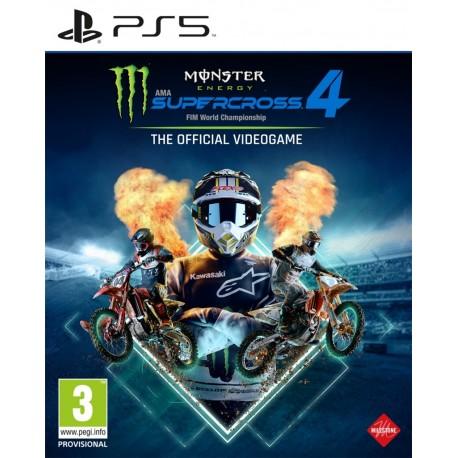 Monster Energy Supercross 4-ps5