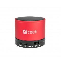 repro C-TECH SPK-04B, bluetooth, červené