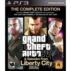 GTA IV Complete-ps3