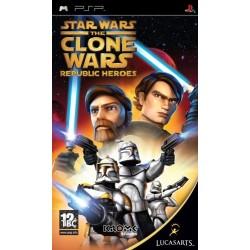 Star Wars The Clone Wars: Republic Heroes-psp-bazar