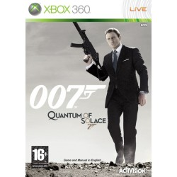 007 Quantum of Solace: The Game -x360-bazar
