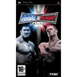 WWE SmackDown! vs. RAW 2006-psp-bazar